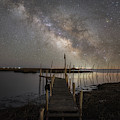 Grand Bay Milky Way  by Michael Ver Sprill