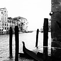 Grand Canal In Venice Italy by Georgia Fowler