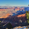 Grand Canyon Snow On Ground by Chance Kafka