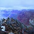Grand Canyon Winter Scene by Chance Kafka
