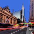 Grand Central, The Chriysler Building And Pershing Square by Susan Candelario