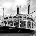 Grand Old Riverboats Black And White by Mel Steinhauer