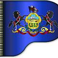 Grand Pennsylvania Flag by Bigalbaloo Stock