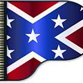 Grand Piano Confederate Flag by Bigalbaloo Stock
