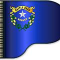 Grand Piano Nevada Flag by Bigalbaloo Stock