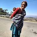 Grandchild And Grandmother Shimla Himachal Pradesh by Nimu Bajaj and Seema Devjani