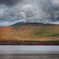 Gray Clouds On Mount Chocorua by Jeff Folger