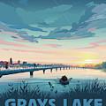 Grays Lake by Clint Hansen