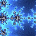 Great Fractal Awakening Blue by Don Northup
