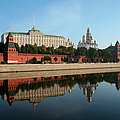 Great Kremlin Palace Reflected In by Lonely Planet