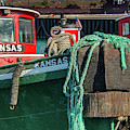 Great Lakes Towing Tug Kansas by Christine Douglas