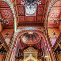 Great Synagogue, Budapest Hungary by Delphimages Photo Creations