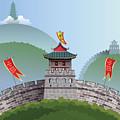Great Wall Of China by Nikola Knezevic