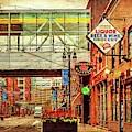 Greektown Dsc_1215 Vintage by Michael Thomas