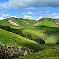 Green Hills Santa Monica Mountains by Kyle Hanson