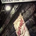 Green Line Boston T Stop At Fenway Park by Joann Vitali