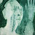 Green Portrait by Edgeworth DotBlog