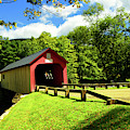 Green River Covered Bridge by Mike Martin
