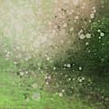 Green Splatter by Go Van Kampen