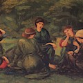 Green Summer 1868 by BurneJones Edward