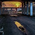 Greenway Sundown by Joel Friedman