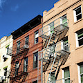 Greenwich Village Colors In New York City by John Rizzuto