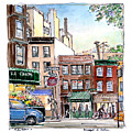 Greenwich Village Shops by Dan Nelson