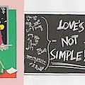 Greeting Card  Love Is Not Simple by Don Martin