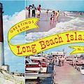 Long Beach Island, Nj Greetings - Version 1 by Mark Miller