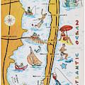 Long Beach Island, Nj Greetings - Version 2 by Mark Miller