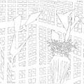 Gridismjr Bandw Birds In A Nest by Artist Dot