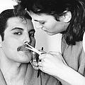 Grooming Freddie by Steve Wood