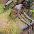 Group Of Three Dancers by Edgar Degas