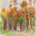 Grove Of Trees by Auguste Renoir
