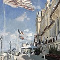 H  Tel Des Roches Noires  Trouville  by Claude Monet