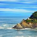 Haceta Head Lighthouse by Mel Steinhauer