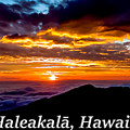 Haleakala Hawaii by G Matthew Laughton
