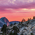 Half Dome At Sunset by Stefan Mazzola