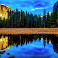 Half Dome Reflection by Garry Gay