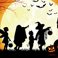 Halloween - Trick Or Treat  by Doc Braham