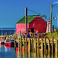 Halls Harbour Nova Scotia by David Smith
