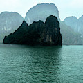 Halong Bay Mountains, Vietnam by Madeline Ellis