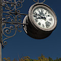 Hanging Clock by Wolfgang Stocker