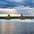 Hanover Street Bridge Panorama by Bill Swartwout Photography