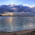 Hanover Street Bridge Port Covington Panorama by Bill Swartwout Photography