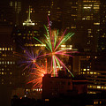 Happy 4th From Chinatown Sf by Bonnie Follett
