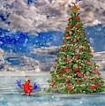 Happy Christmas Parrot by Betsy Knapp