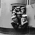 Happy Sailors by Fox Photos