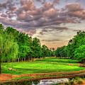 Harbor Club Golf And Country Club Landscape Art by Reid Callaway
