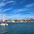 Harbor Sailing by Brian Eberly